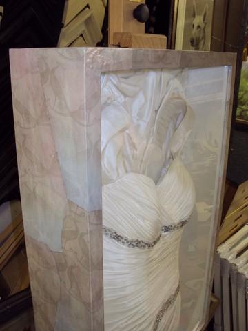 Wedding Dress Framing | Bespoke Framing