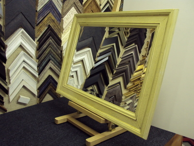 Framed Mirror by bespoke framing