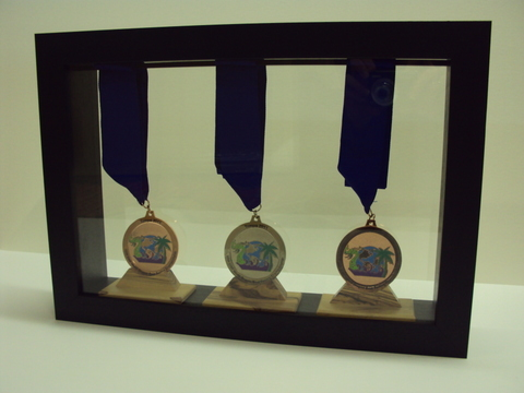 Framed Dragonboat Medals