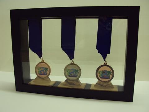 Framed Dragonboat Medals