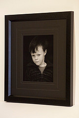 Framed Childs Portrait