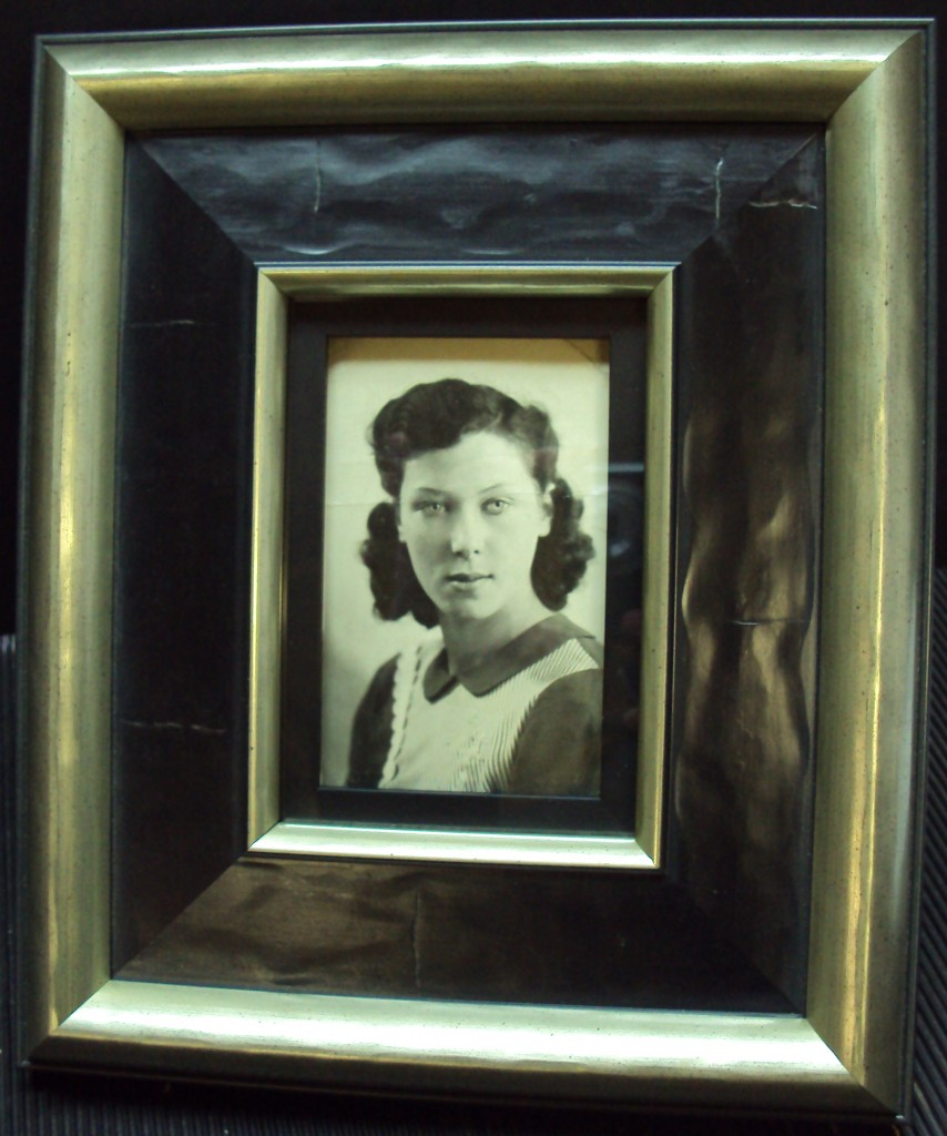 Framed photograph
