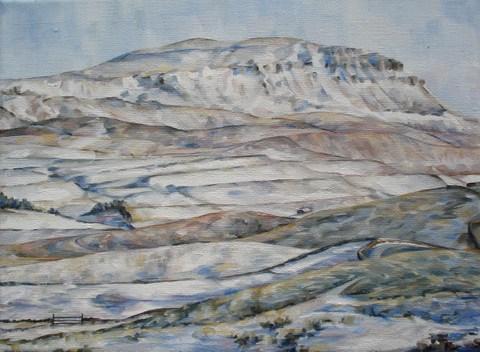 Displayed by Bespoke Framing, artist Katherine Whitby