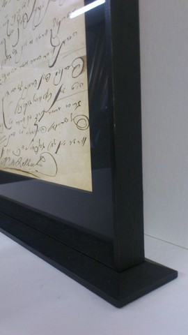 Framing a Letter from Disraeli