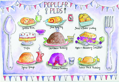 Puds by Nicola Metcalfe