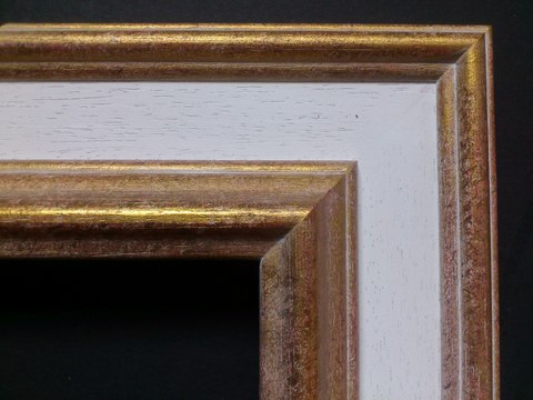 Antique Gold Finish with grey insert 1