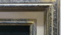 Antique Gold/Stone finish