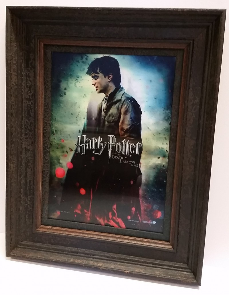 Harry Potter into Voldermort in a frame!