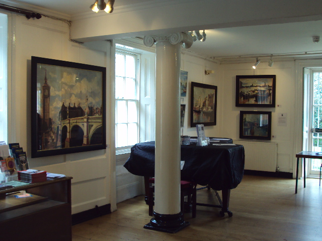 Works by Paul Bell, exhibited at The Bigger Picture exhibition at Lauderdale House.