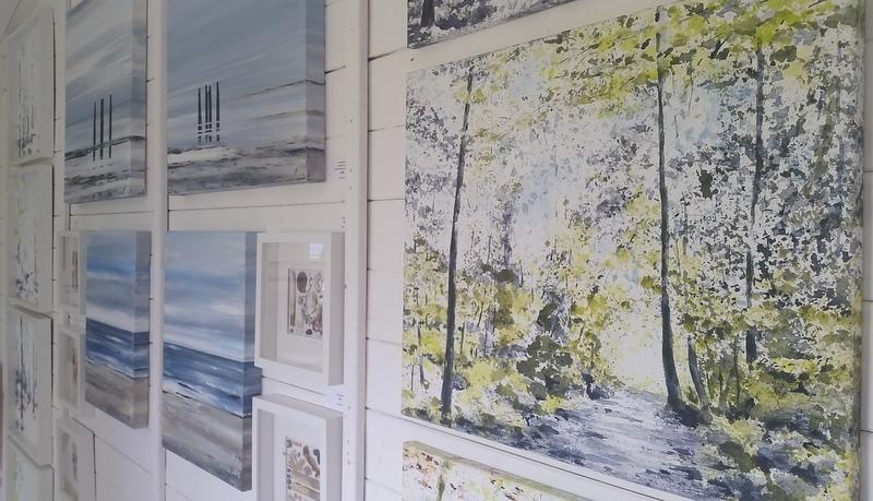 Bucks Open Studios - Studio 24 exhibition, Beaconsfield