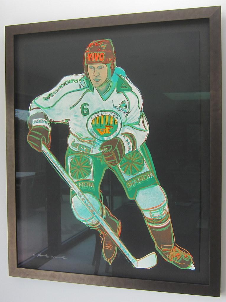 Frolunda Hockey Player