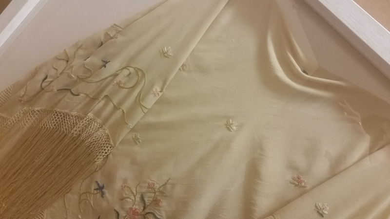 Antique Silk Shawl