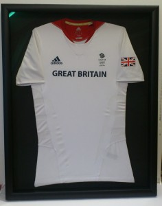 Team GB Hockey vest from 2012 Olympics