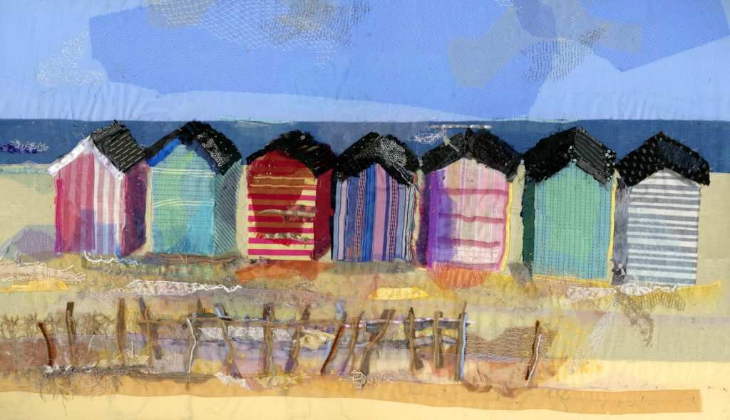 Beach Huts - Barbara Shaw