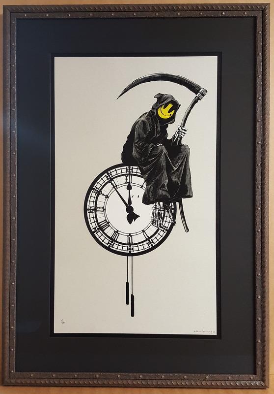 Banksy - Grim Reaper