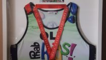 London Marathon Running Vest, Medal