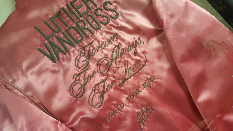 Luther Vandross Tour Jacket