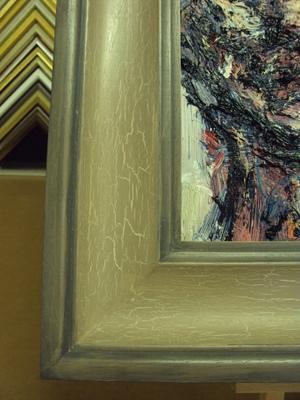 Crackle Glaze Portrait CU2