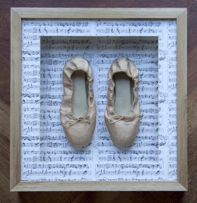 Framed Ballet Slippers