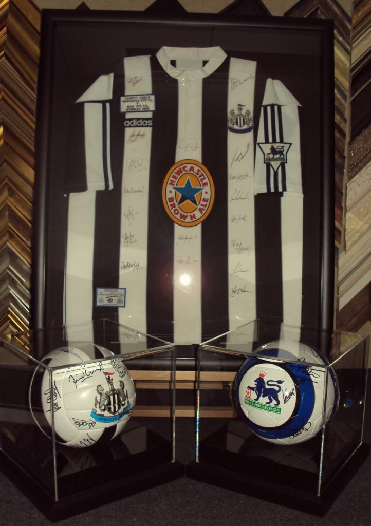 Framed Football Shirt