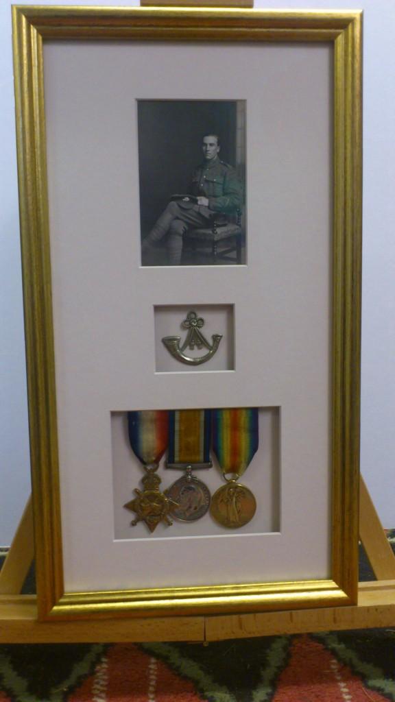 World War II Memorabilia framed by Bespoke Framing