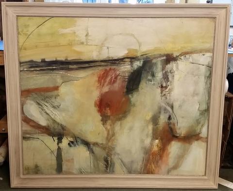 Hand Finished Frame - Chris Sims original artwork