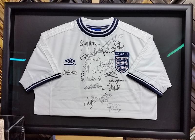 Signed England Shirt