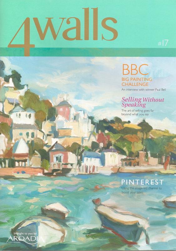 4Walls magazine by Arqadia features Bespoke Framing