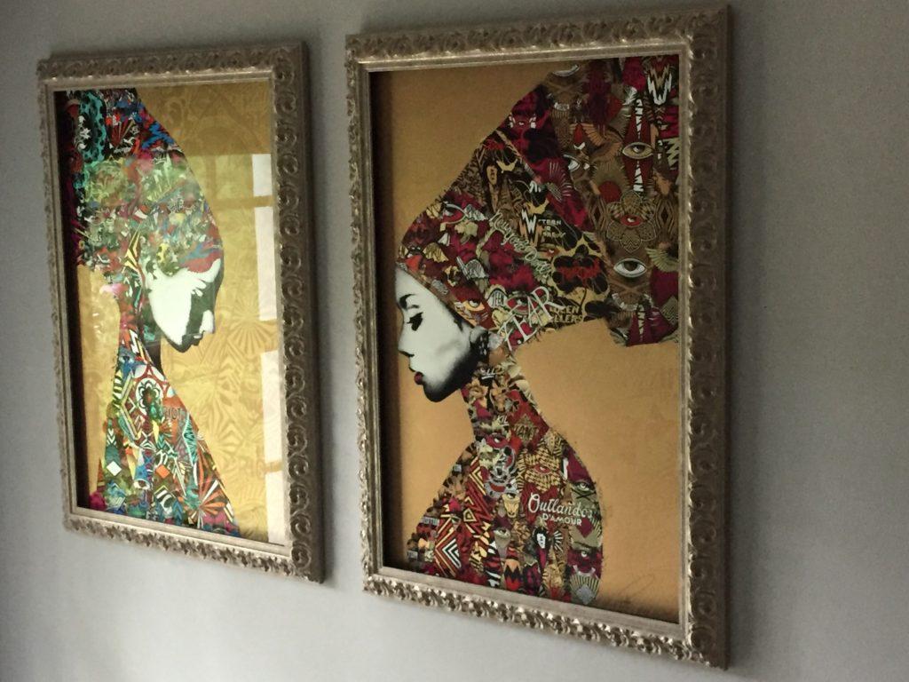 Ornate Silver Frames