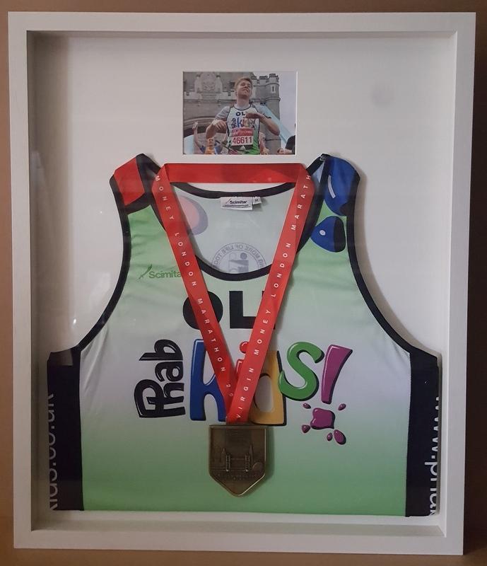 Running Vest, Medal & Photograph