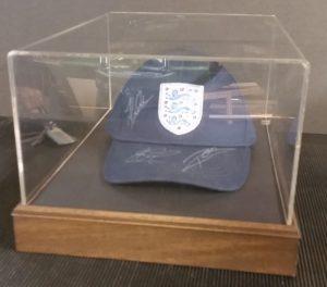 Cricket Cap on Display