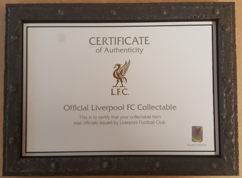 Framed LFC Main Stand Seat