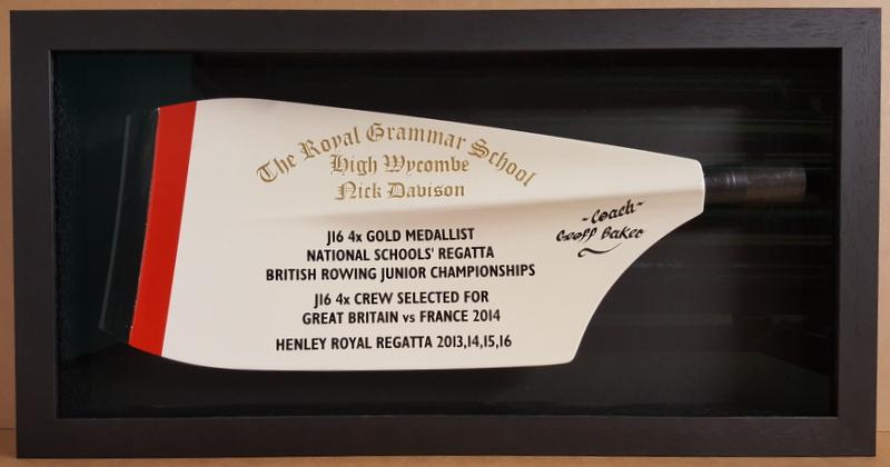 Framed Rowing Blade