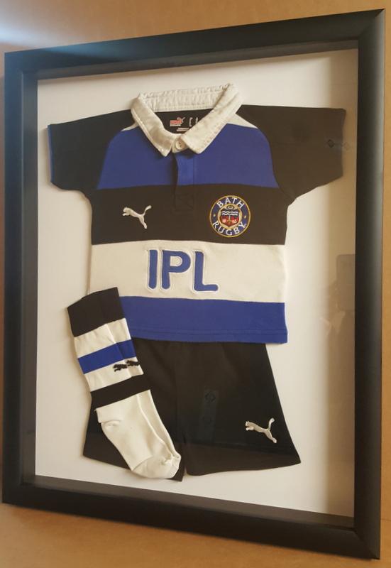 Framed Junior Rugby Kit