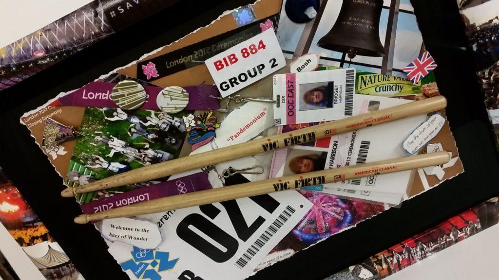 Olympic Drummer Memorabilia