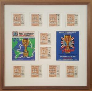 1966 World Cup Tickets & Programmes
