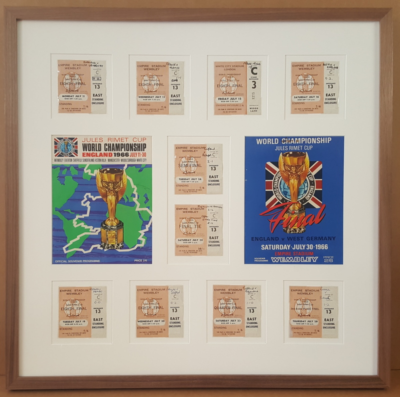 1966 World Cup Tickets & Programmes