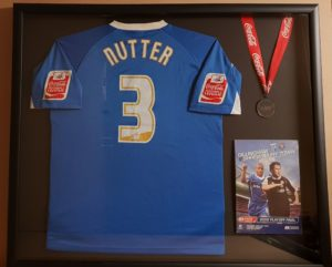John Nutter Shirt, Medal & Programme