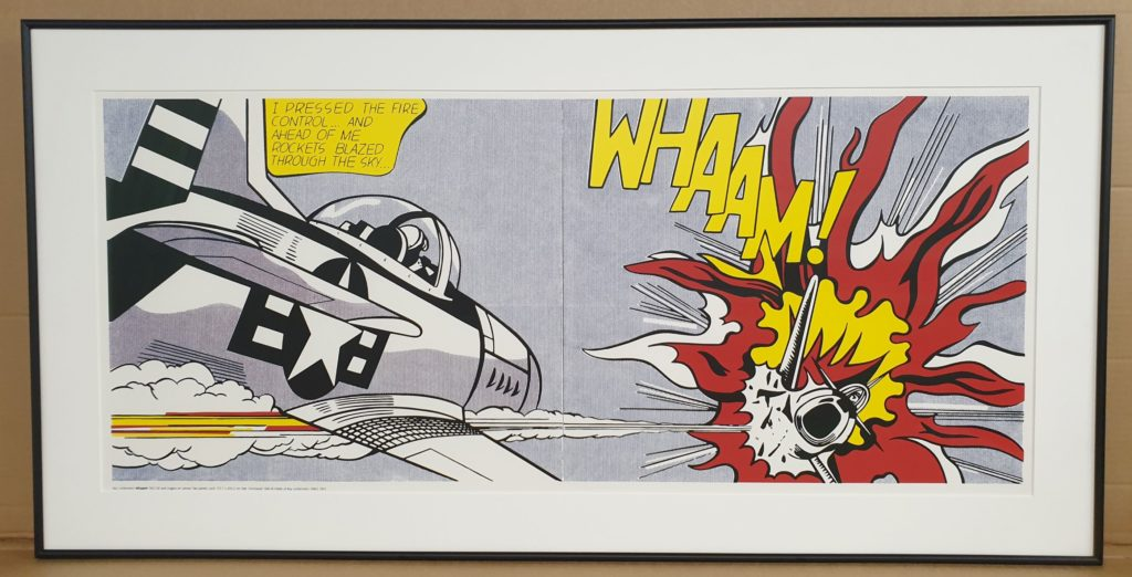 Roy Lichtenstein 'Whaam!' print