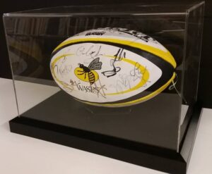 Signed Wasps Rugby Ball