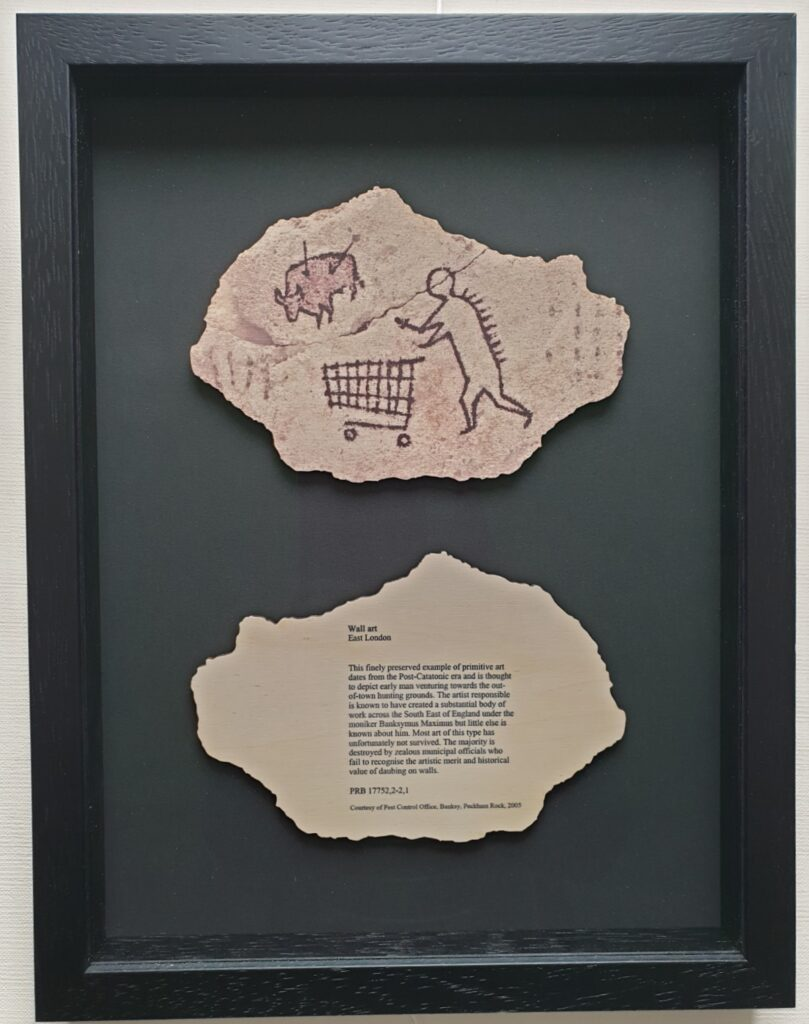 Framed Banksy Coasters